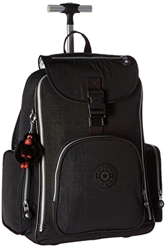 Kipling Luggage Alcatraz Wheeled Backpack with Laptop Protection, Black, One Size