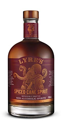 Lyre's Spiced Cane Non-Alcoholic Spirit - Spiced Rum Style | Award Winning | 23.7 Fl Oz
