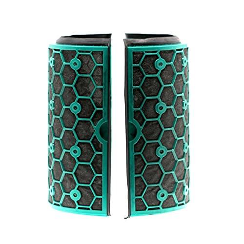 WANGYA Filtro de aspiradora Aspirador para Dyson DP04 TP04 HP04 Filtro de Ventilador de Escritorio Fresco Puro Dyson TP04 Filtro de carbón Activado filtros de aspiradoras (Color : Dark Grey)