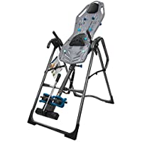 Teeter FitSpine X3 Inversion Table with Deluxe Easy-to-Reach Ankle Lock (FDA-Registered)