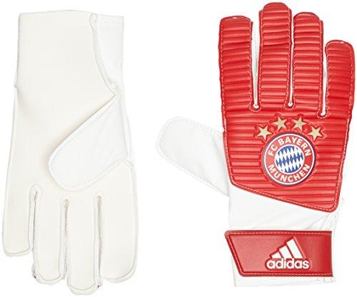 adidas Erwachsene FC Bayern Lite Torwarthandschuhe, FCB True Red/White, 8