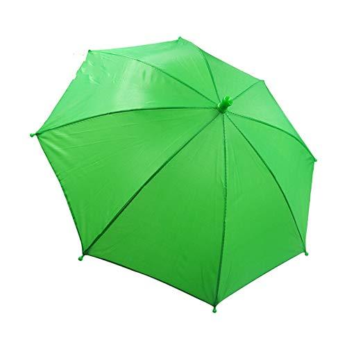 CCAN 1 Stück von 60 cm Regenschirm Gurt-Taillen-Zauberer Zaubertrick Parasol Produktion Zubehör Bühnen Illusion Prop-Spielzeug (Farbe : Grün)