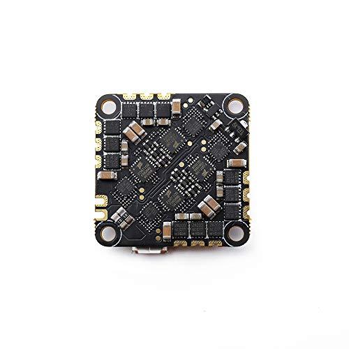 Walmeck- Controlador de Vuelo sin escobillas GEP-20A-F4 20A ESC 32 * 32 mm para RC DIY FPV Racing Drone Soporte Máximo 4S Batería Betaflight OSD