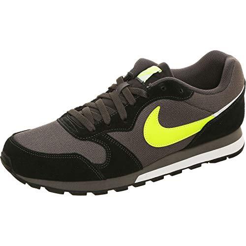 Nike MD Runner 2 Es1, Scarpe da Corsa da Uomo, Thunder Grey/Volt/Nero/Bianco, 40 EU