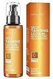 HOPEMATE H Self Tanner, Natural Tan Lotion, Gradual Sunless Tanning, 3.4 Fl Oz