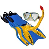 National Geographic Snorkeler Tunny 2K Kids Set Yellow/Blue