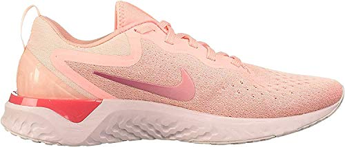 Nike Damen Odyssey React Laufschuhe, Mehrfarbig Oracle Pink Pink Tint Coral Stardust 601, 37.5 EU