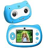 Kinderkamera 1080P Kinderkamera 24MP Zoom Kamera für Kinder mit 2,4 Zoll Doppellinse Fotoapparat Kinder Digitalkameras Geschenk für Kinder -