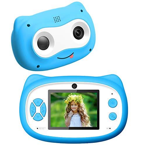 Kinder Kamera,24MP 1080P HD Kamera für Kinder, 8X Dual Len Digital Zoom Spielzeug Kleinkind Kamera Vorne und Hinten, Weihnachts Geburtstags Geschenke für Mädchen&Jungen