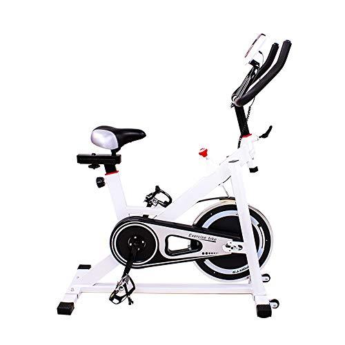 Bicicleta de Spinning Inicio Silencio Interior Vertical Bicicleta estática aparatos de Gimnasia for Cubierta Gimnasio en casa Ejercicio aeróbico Máquina de Ejercicio cómoda