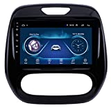 Hahaiyu Car Radio Player 9 Inch Android 8.1 GPS Navigation 2.5D Screen for Renault Kaptur (2011-2016) Automatic Control, Multimedia SWC Mirror Link Bluetooth FM (2G+32G)