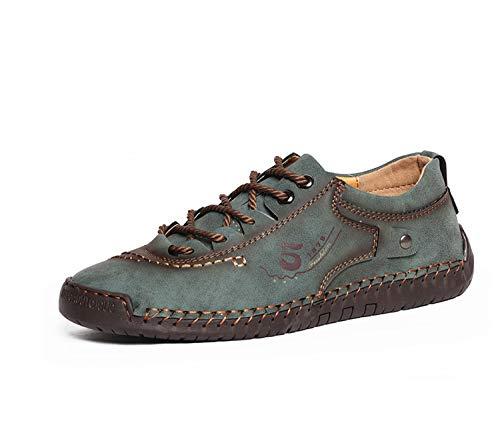 Plus Size Winter Men Shoes Casual Split Leather Shoes Men Loafers Super Comfort Snow Shoes Men Flats Moccasins Shoes 3 9