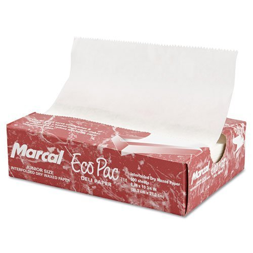 MCD5293 - Deliwrap Ecopac InterFold Wax Paper 12x10 12/500 by Marcal