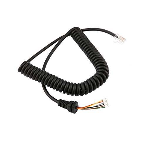 Monlladek Ersatzmikrofone Kabel Mikrofonkabel Draht für Yaesu MH-48A6J FT-7800 FT-8800 FT-8900 FT-7100M FT-2800M FT-8900R