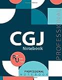 "CGJ Notebook , Examination Preparation Notebook, Study writing notebook, Office writing notebook, 140 pages, 8.5"" x 11"", Glossy cover"