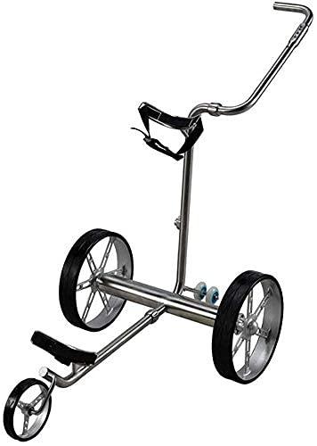 BGSFF Carrito de Golf eléctrico Carrito de Golf Plegable de 3 Ruedas Carrito de Golf con Ruedas Carrito de Golf con Control Remoto Carrito de Golf eléctrico