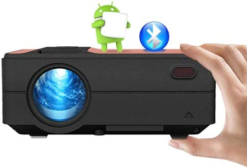 Bluetooth Projector with WiFi Ultra iP Outdoor for アイテム勢ぞろい HD 訳あり品送料無料