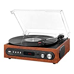 Victrola All-in-1 Bluetooth Record Player - Best Record Player With Speakers