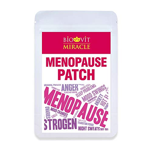 VYTALIVING Biovit Miracle Menopause Patches (30 Patches, One Patch A Day) - for Energy and Normal Hormonal Activity - Against Night Sweats, Hot Flushes and Hormone Imbalances