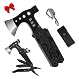 Multitool Axe and Hatchets Camping Accessories AAB Survival Gear and Equipment 15-in-1 Cam...