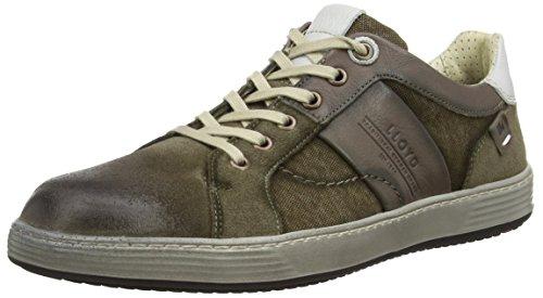 Lloyd Herren Andre Sneaker, Grau (Taupe/Grey/Offwhite 4), 43 EU