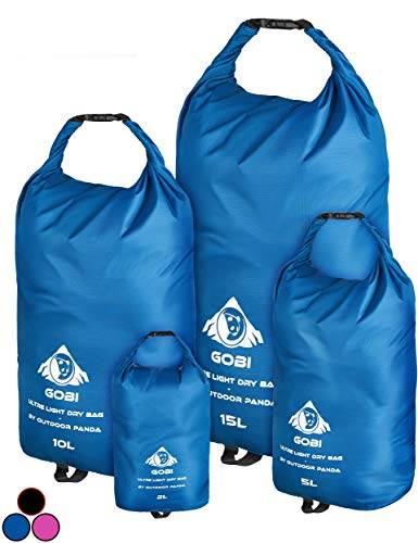 Outdoor Panda Dry Bags (Blau, 1 x 10L)