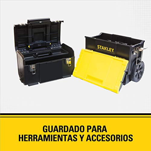 STANLEY Tool Box, 3-in-1 Rolling WorkShop (STST18613)