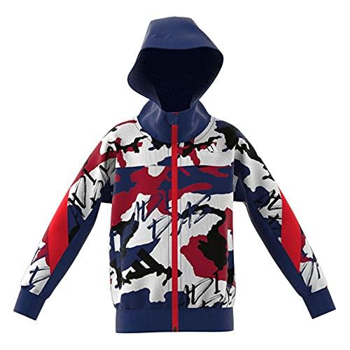 adidas Sudadera con Capucha Marca Modelo LB Fleece JKT