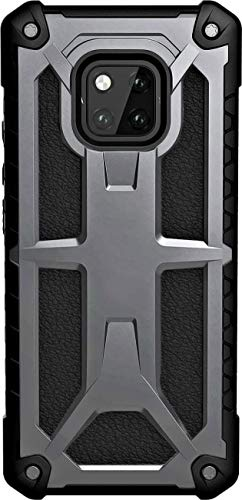 Cubix Monarch Case for Huawei Mate 20 Pro (Grey) Feather-Light Rugged [Grey] Military Drop Tested Phone Case Back Cover