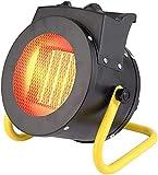 Calefactor, Radiador Patio Eléctrico Calentador De Alta Potencia, Ajustable 3 Ajustes De Calefacción , IXP4 Protección De Sobrecalentamiento De Seguridad Impermeable Calentadores Al Aire Libre, Adecua