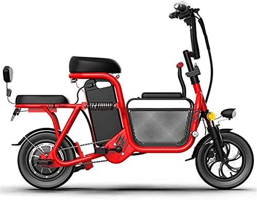 Bicicleta electrica Bicicleta de cercanía eléctrica plegable 12 '' Bicicleta de la...