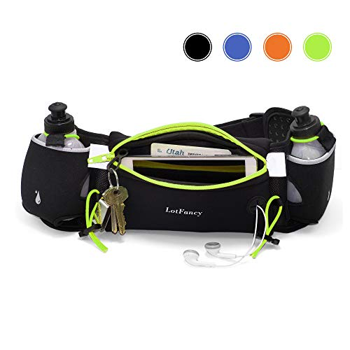 Running Sport Waist Belt Pocket Bum Bag Stretching Jogging Pack Cycling Pouch ED