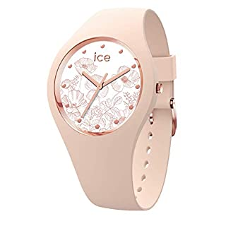 Ice-Watch - ICE flower Spring nude - Montre rose pour femme avec bracelet en silicone - 016663 (Small) (B07N2N4K8Y) | Amazon price tracker / tracking, Amazon price history charts, Amazon price watches, Amazon price drop alerts