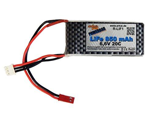 Sender- oder Empfängerakku arkai Life Akku 850 mAh 6,6 V 20C - Sicherer als Lipos