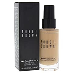 A water based, oil free foundation. Minimizes the appearance of pores Spf 15 protects from harmful uv rays