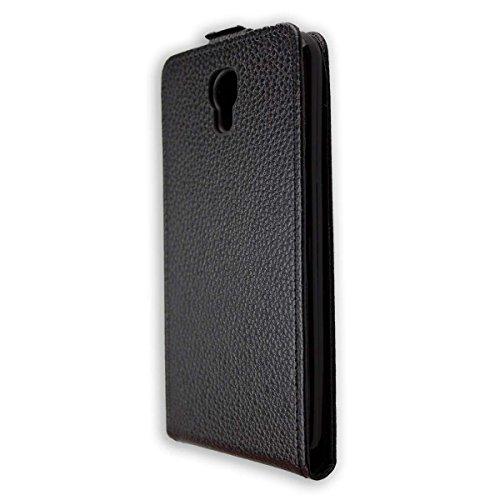 caseroxx Flip Cover für Archos Core 50P, Tasche (Flip Cover in schwarz)