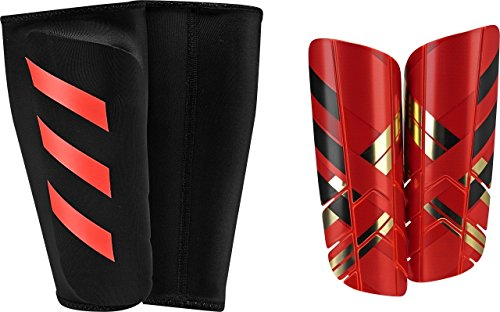 adidas Performance Ghost Pro Shin Guards, Solar Red/Core Red/Black, X-Small