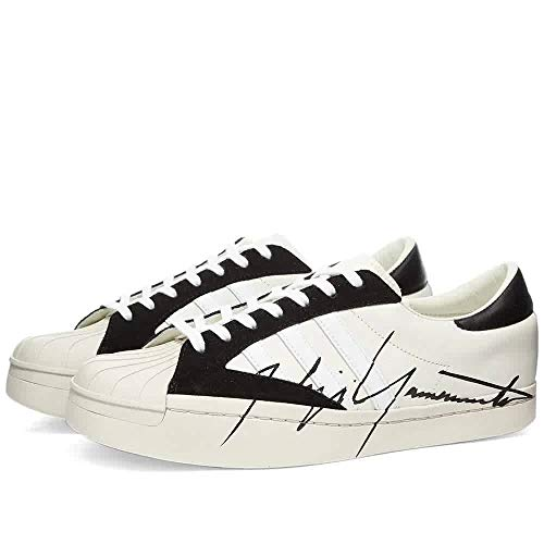 Y-3 Sneaker Star aus weißem Leder mit Yohji Yamamoto, UK-Größe:, Mehrfarbig - mehrfarbig - Größe: 38 2/3 EU