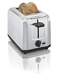 Hamilton Beach Brushed Stainless Steel 2-Slice Toaster