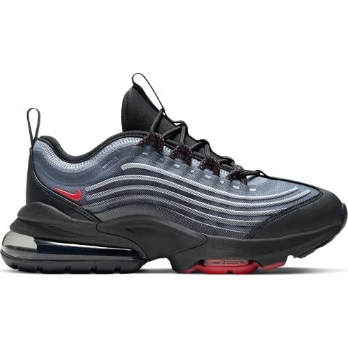 Nike Zapatillas de deporte unisex Air Max ZM950 GS CN9835 (gris humo oscuro/pizarra/fantasma/luz fusión rojo 004), color Gris, talla 39 EU