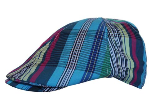 UD Accessories - Casquette souple - - À rayures Homme Turquoise Turquoise