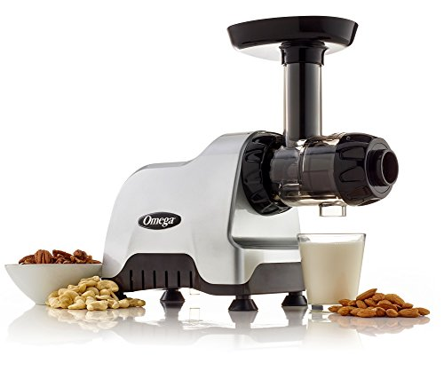 Omega Compact Slow Speed Multi-Purpose Nutrition System Juicer with Quiet Motor Creates Continuous Fresh Healthy Fruit… |