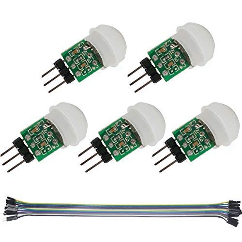 Amazon.co.uk - 5pcs AM312 Mini Pyroelectric PIR Sensor Module (2 pieces)