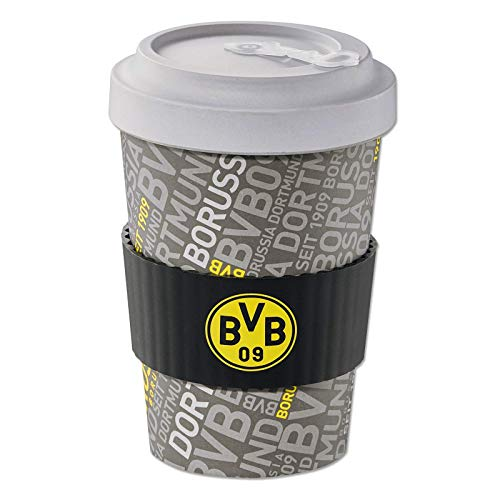 Borussia Dortmund, BVB-Coffee to go-Becher groß, Mehrfarbig, 0