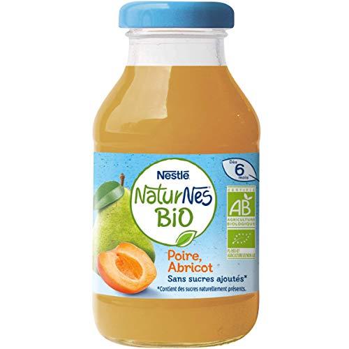 Nestlé Bébé Naturnes Bio Boisson Poire Abricot Dès 6 Mois 200 ml