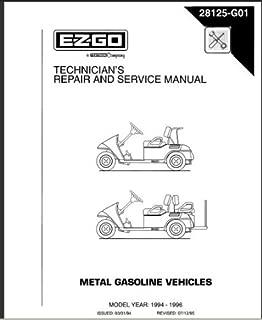 Best ezgo medalist service manual Reviews