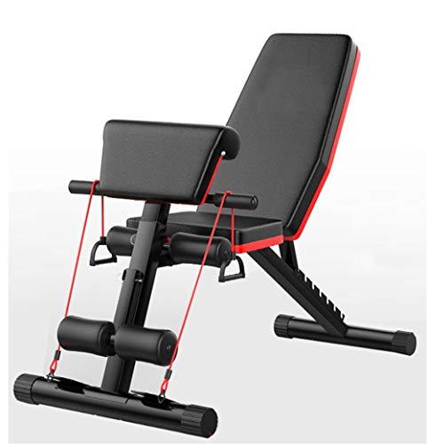 Xiao Tian Hantelbank, Sit-Ups-Fitnessgeräte, Multifunktionsgeräte for zu Hause, Fitness-Vogelbankhocker
