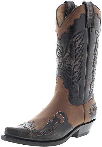 Mayura Boots 1927 - Stivali da cowboy unisex, Multicolore (Verin Pony.), 44 EU