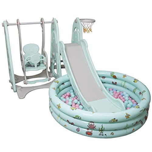 Playground Infantil 4x1 Com Piscina De Bolinhas Importado