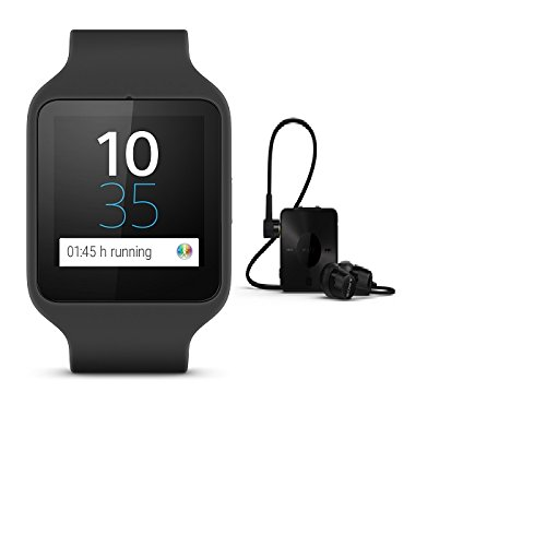 Sony SmartWatch 3 SWR50 (Silicon, Black)